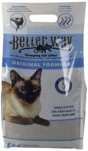 Ultra Pet Better Way Clumping Cat Litter with Bentonite Clay and Sanel Cat Attractant