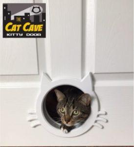 The Cat Cave Interior Cat Door