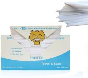 Hyper Cat Jumbo Cat Litter Box Liners