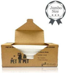 PET N PET Cat Litter Box Liners