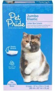 Pet Pride Jumbo Elastic Litter Box Liners