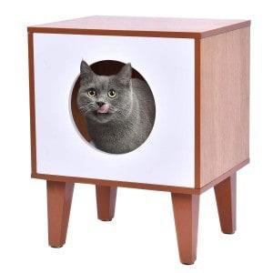 tangkula cat box cushion bed