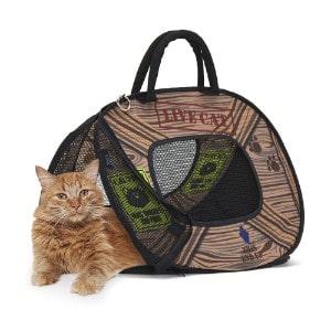 SportPet Designs Cat Carrier With Zipper Lock