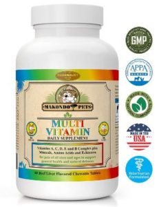 Makondo Pets Multivitamin for Dogs and Cats