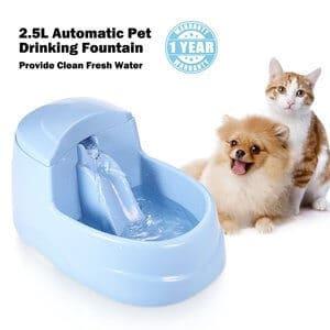 MuMu New Life Large Capacity Cat Drinking Fountain