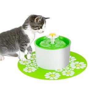 Happypapa Cat Fountain Flower Fountain