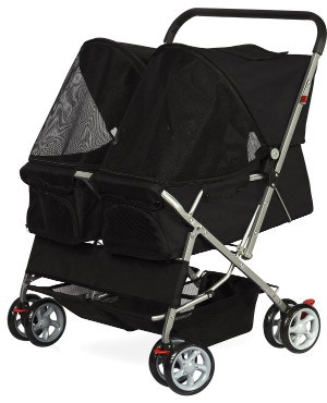 Paws & Pals Double Cat Stroller