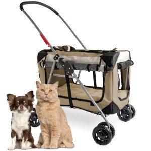 PetLuv Happy Cat Premium Soft Sided Foldable Top & Side Loading Pet Carrier