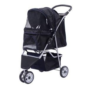 Giantex Three Wheel Pet Stroller