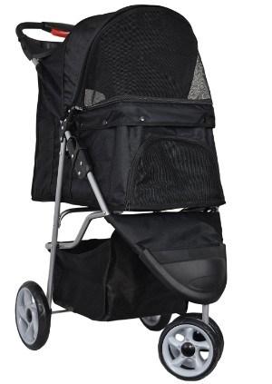VIVO Three Wheel Pet Stroller
