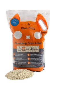 Rufus & Coco Wee Kitty Clumping Corn Cat Litter