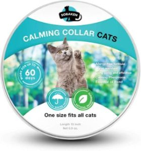 SOBAKEN Calming Collar for Cats