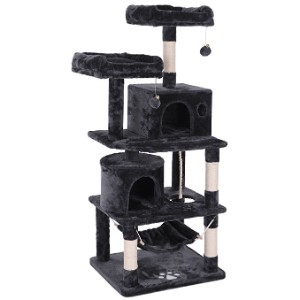 BEWISHOME Cat Tree Activity Tower