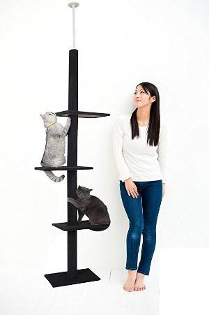 Cat Craft Three Tier Floor-to-Ceiling Cat Tree