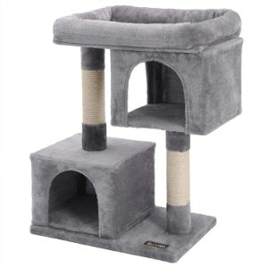FEANDREA Cat Tree with Sisal Scratching Posts