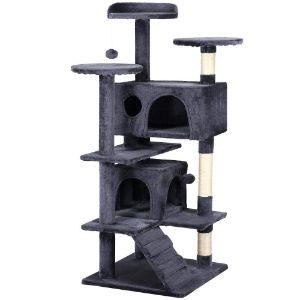 "Yaheetech 51"" Cat Tree Tower Condo"