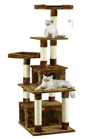 """Go Pet Club 67"""" Cat Tree Condo"""