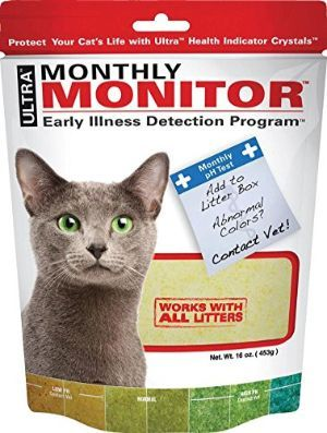 Ultra Cat Health Monthly Monitor Crystal