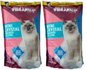 Vibrant Life Formerly Mimi Pet Cat Litter Mini Silica Gel Crystals