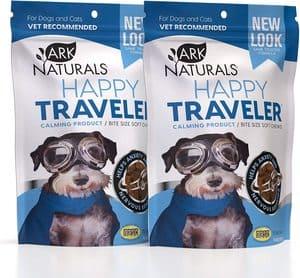 Ark Naturals Happy Traveler Natural Calming Treats for Dogs & Cats