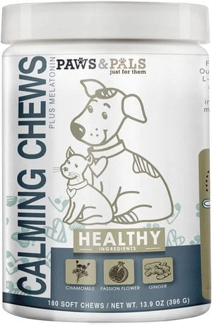 Paws & Pals Calming Treats for Dogs and Cats