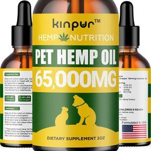 Kinpur Hemp Oil for Dogs & Cats