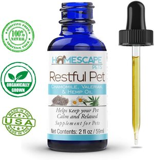 RESTFUL PET - Anti Anxiety Aid for Cats and Dogs