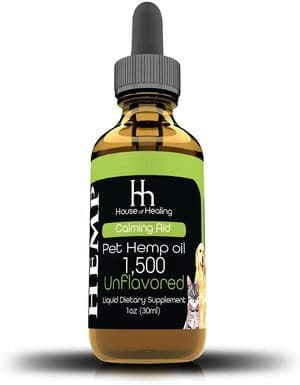 House of Healing Hemp Oil for Dogs & Cats