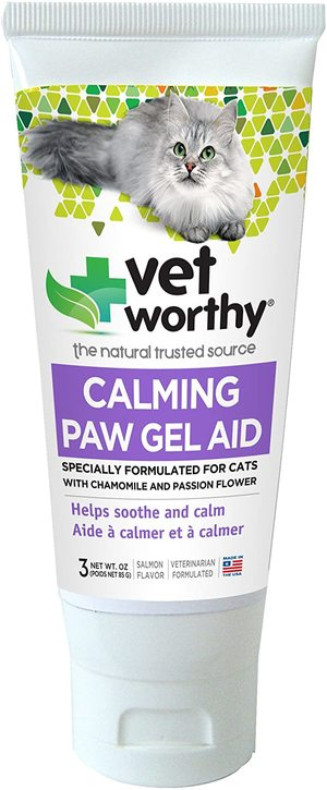 Vet Worthy Calming Paw Gel Aid for Cats