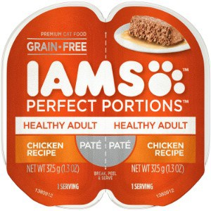 Iams Perfect Portions Grain-Free Wet Cat Food