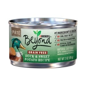 Purina Beyond Grain-Free Duck & Sweet Potato Recipe