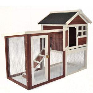 Advantek Stilt House Rabbit Hutch Farmhouse-min
