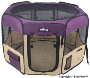 EliteField 2-Door Soft Pet Playpen-min
