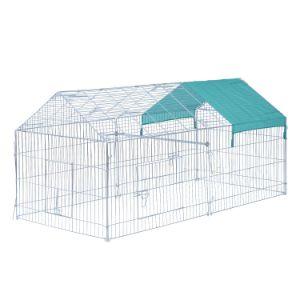 PawHut 87 x 41 Outdoor Metal Pet Enclosure-min