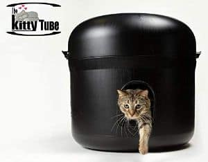 Kitty Tube The Outdoor Cat House with Pet Pillow