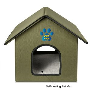 Outdoor Cat House by Pet Peppy