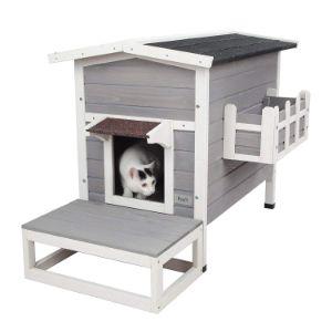 Petsfit Weatherproof Outdoor Cat Shelter