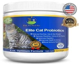 Elite Pet Nutrition Probiotic Supplement for Cats
