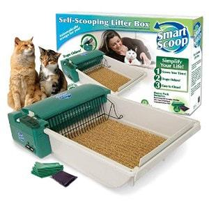 SmartScoop Basic Self-Scooping Cat Litter Box