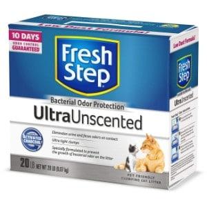 Fresh Step Ultra Unscented Clumping Cat Litter