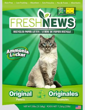 Fresh News Recycled Paper Cat Litter