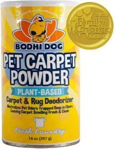 Bodhi Dog Natural Dog Odor Carpet Powder