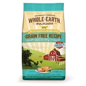 Whole Earth Farms Grain Free Recipe Dry for Cats